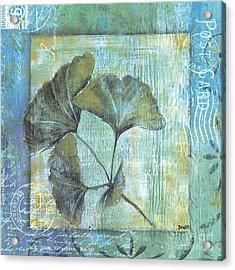 Gingko Spa 2 Acrylic Print by Debbie DeWitt