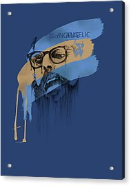 Ginsberg Acrylic Print by Pop Culture Prophet