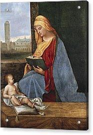 Giorgione, Pupil Of 15th-16th Century Acrylic Print by Everett