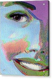 Girl Acrylic Print by Tony Rubino
