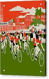 Giro Acrylic Print by Eliza Southwood