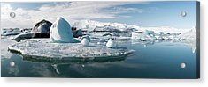 Glacial Lagoon Acrylic Print by Jeremy Walker