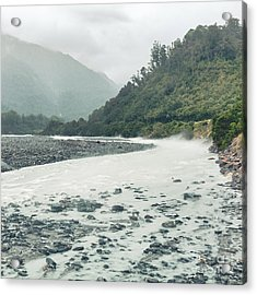 Glacial River Acrylic Print by MotHaiBaPhoto Prints