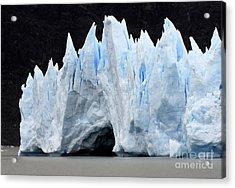 Glaciar Grey Patagonia Chile 3 Acrylic Print by Bob Christopher