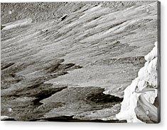 Glacier Acrylic Print by Frank Tschakert