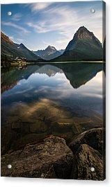 Glacier National Park 2 Acrylic Print by Larry Marshall
