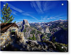 Glacier Point Yosemite National Park Acrylic Print by Scott McGuire
