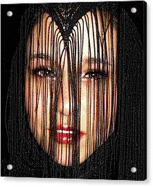 Glare Acrylic Print by Kristie  Bonnewell