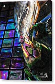 Glass Abstract 770 Acrylic Print by Sarah Loft