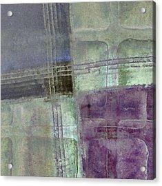 Glass Crossings Acrylic Print by Carol Leigh