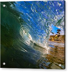 Glassy Perfection Acrylic Print by David Alexander