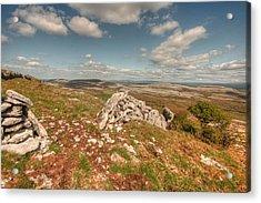 Glen Hill View Acrylic Print by John Quinn