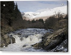 Glen Orchy Scotland Acrylic Print by Pat Speirs