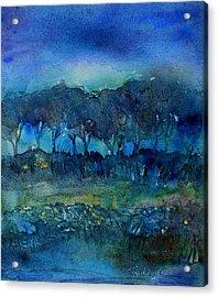 Glimmer Of Dawn  Acrylic Print by Trudi Doyle