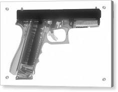 Glock G17 Acrylic Print by Ray Gunz