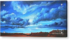 Landscapes Acrylic Print featuring the painting Glorious Morning by Susi Galloway