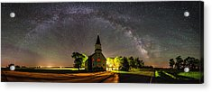 Glorious Night Acrylic Print by Aaron J Groen