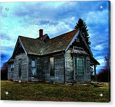 Glory Days Gone By Acrylic Print by Julie Dant
