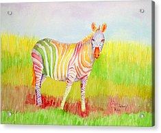 Glory Acrylic Print by Rhonda Leonard