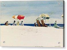 Gloucester Beach Acrylic Print by Edward Hopper