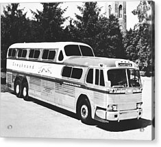 Gm's Latest Bus Line Acrylic Print by Underwood Archives