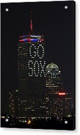 Go Boston Red Sox Acrylic Print by Juergen Roth
