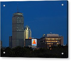 Go Red Sox Acrylic Print by Juergen Roth
