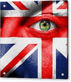 Go United Kingdom Acrylic Print by Semmick Photo