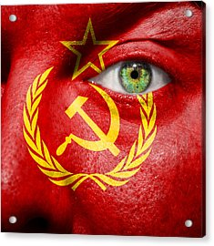 Go Ussr Acrylic Print by Semmick Photo