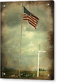 God And Country Acrylic Print by Doug Fredericks
