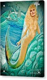 Goddess Atargatis 1000 Bc Acrylic Print by Gary Keesler