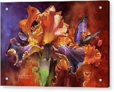 Goddess Of Miracles Acrylic Print by Carol Cavalaris
