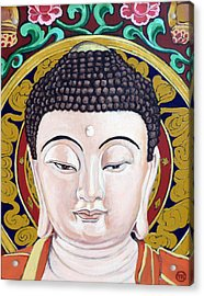 Goddess Tara Acrylic Print by Tom Roderick