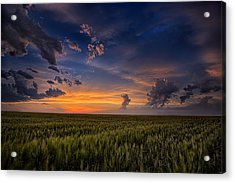 God's Country Acrylic Print by Thomas Zimmerman