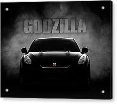 Godzilla Acrylic Print by Douglas Pittman