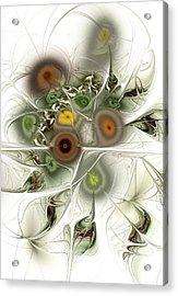 Going Green Acrylic Print by Anastasiya Malakhova