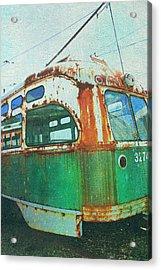 Going Green Acrylic Print by Sheryl Bergman