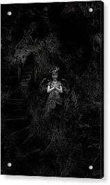 going to Heaven Acrylic Print by David Fox