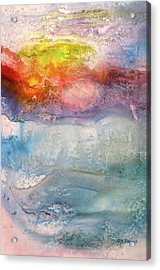 Going Under Acrylic Print by Kris Parins