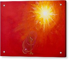 Golden Age Acrylic Print by Barbara Klimova