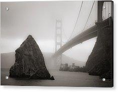 Golden Gate Bridge Acrylic Print by Niels Nielsen