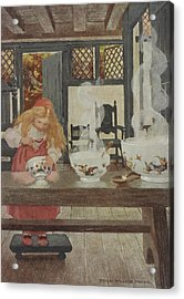 Goldilocks Acrylic Print by British Library