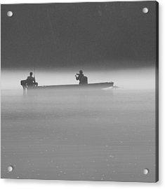 Gone Fishing Acrylic Print by Mike McGlothlen