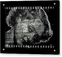 Goodbye Classic America Acrylic Print by Absinthe Art By Michelle LeAnn Scott