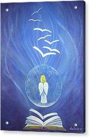 Goodnews Healing Acrylic Print by Richard Van Order