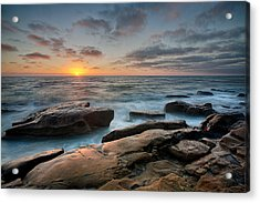 Goodnight Windnsea Acrylic Print by Peter Tellone