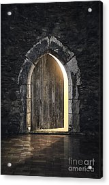 Gothic Light Acrylic Print by Carlos Caetano