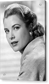Grace Kelly In Her Prime Acrylic Print by Retro Images Archive