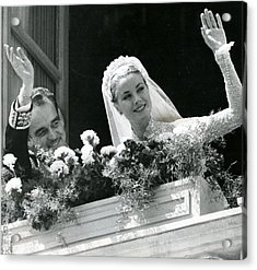 Grace Kelly Waves Acrylic Print by Retro Images Archive