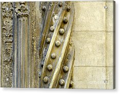 Granada Cathedral Doors And Other Details Acrylic Print by Guido Montanes Castillo